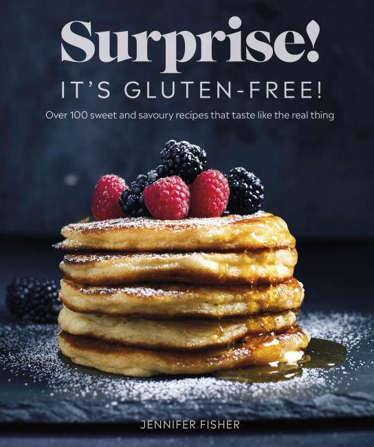 Paperback cover of Surprise! It's Gluten-free!