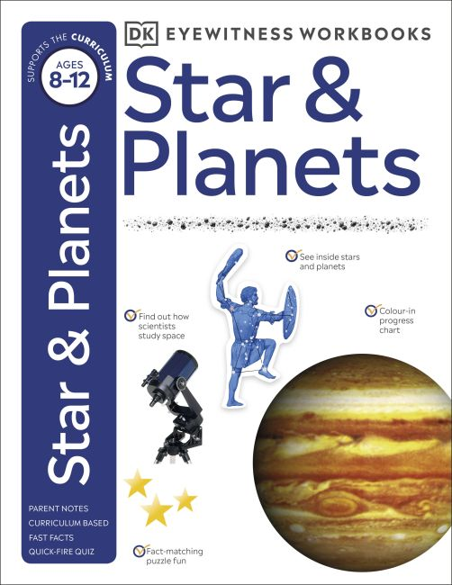 Paperback cover of Stars and Planets