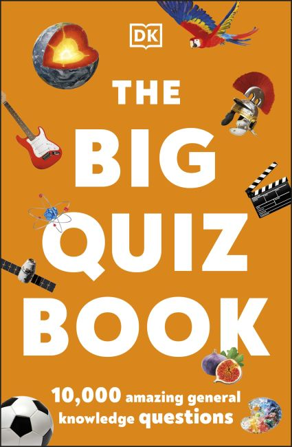 Paperback cover of The Big Quiz Book