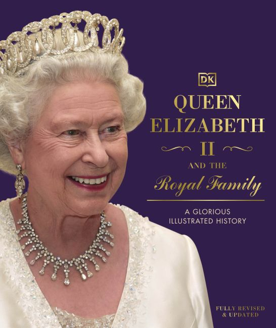 Hardback cover of Queen Elizabeth II and the Royal Family