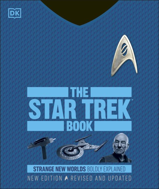 Hardback cover of The Star Trek Book New Edition