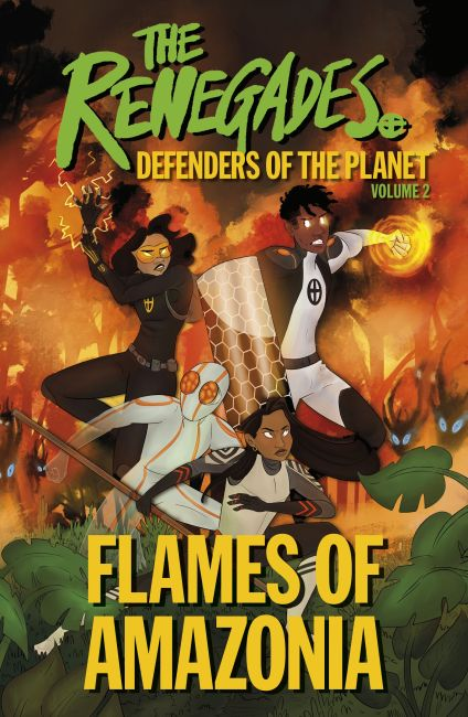 Paperback cover of The Renegades Flames of Amazonia
