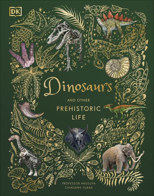 Hardback cover of Dinosaurs and Other Prehistoric Life