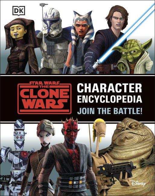 Hardback cover of Star Wars The Clone Wars Character Encyclopedia