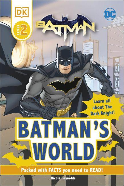 Hardback cover of DC Batman's World Reader Level 2