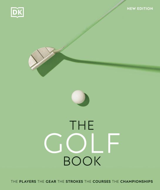 Hardback cover of The Golf Book
