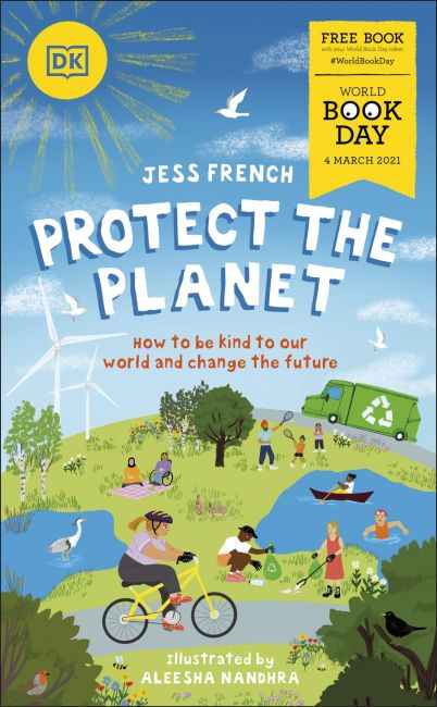 Paperback cover of Protect the Planet!