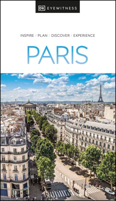 Paperback cover of DK Eyewitness Paris