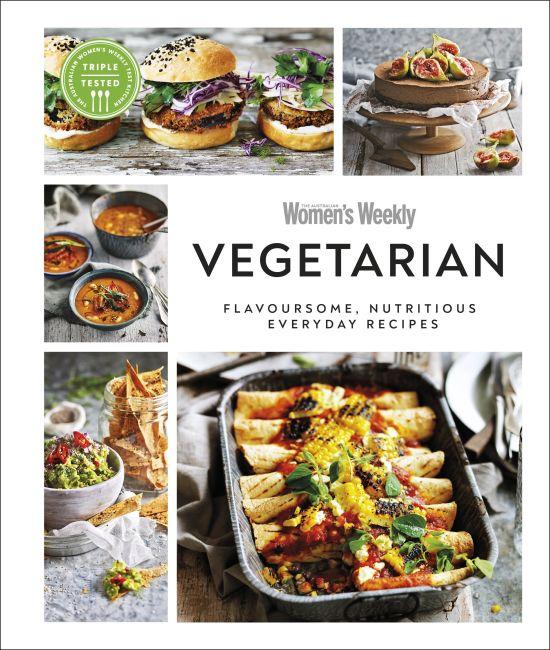 Hardback cover of Australian Women's Weekly Vegetarian