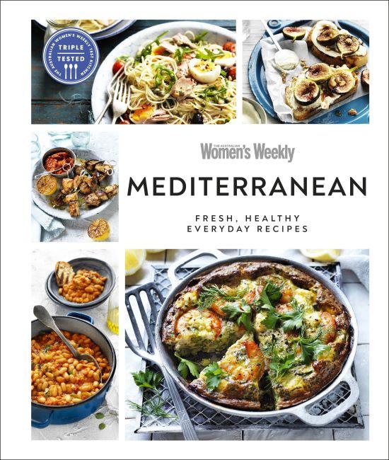 Hardback cover of Australian Women's Weekly Mediterranean