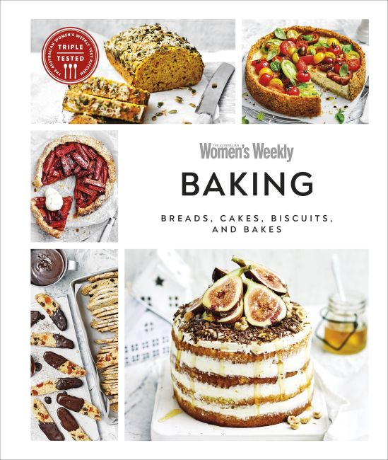 Hardback cover of Australian Women's Weekly Baking