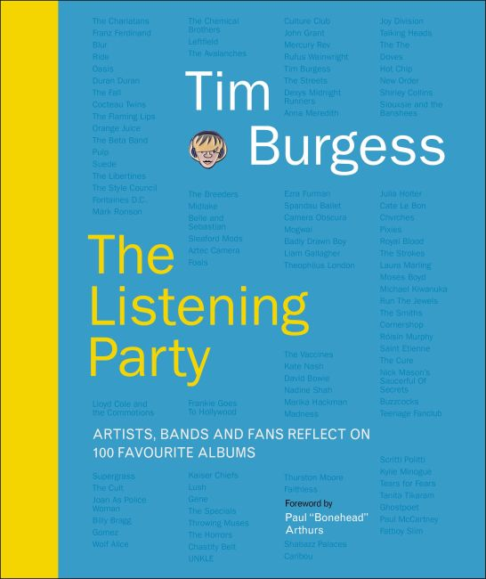 Hardback cover of The Listening Party
