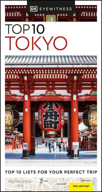 Paperback cover of DK Eyewitness Top 10 Tokyo