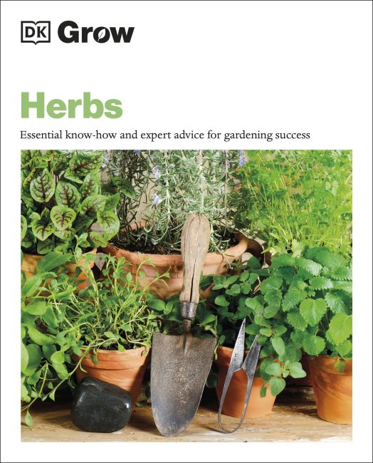 Paperback cover of Grow Herbs