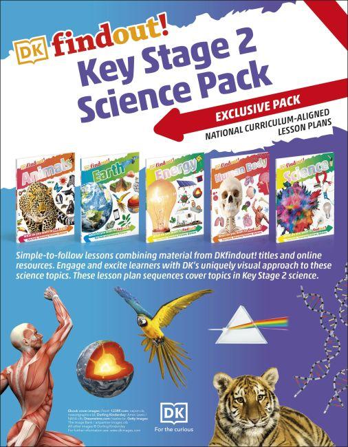Paperback cover of DKfindout! KS2 Science Pack
