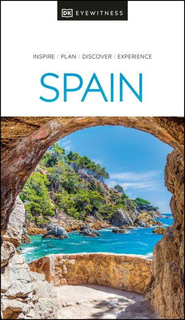 Paperback cover of DK Eyewitness Spain