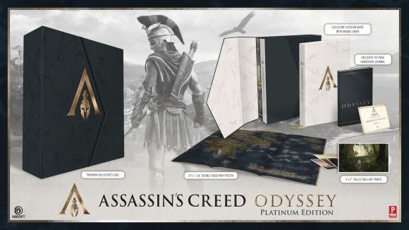 Hardback cover of Assassin's Creed Odyssey