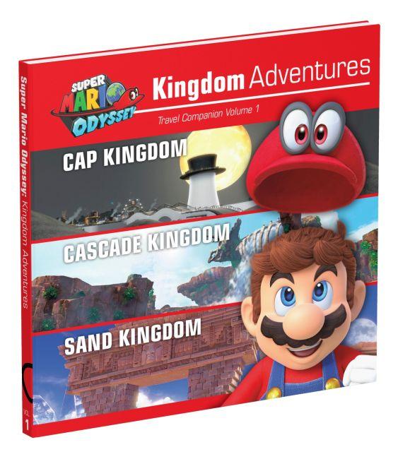 Hardback cover of Super Mario Odyssey: Kingdom Adventures, Vol. 1