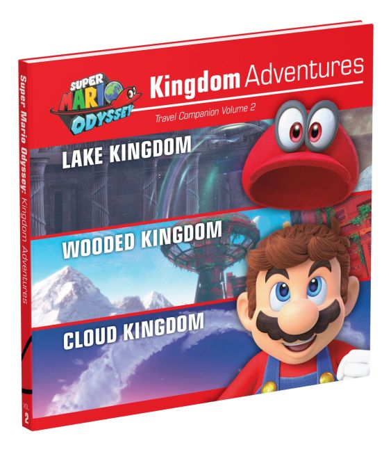 Hardback cover of Super Mario Odyssey: Kingdom Adventures, Vol. 2