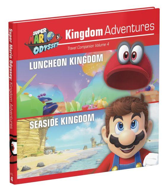 Hardback cover of Super Mario Odyssey: Kingdom Adventures Vol 4
