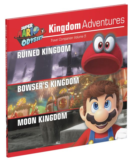 Hardback cover of Super Mario Odyssey Kingdom Adventures Vol 5