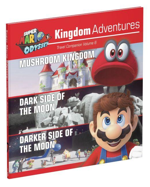 Hardback cover of Super Mario Odyssey Kingdom Adventures Vol 6