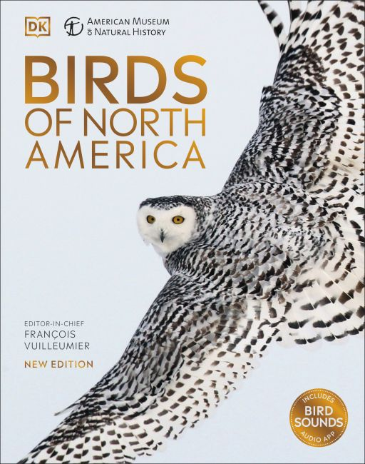 Hardback cover of AMNH Birds of North America