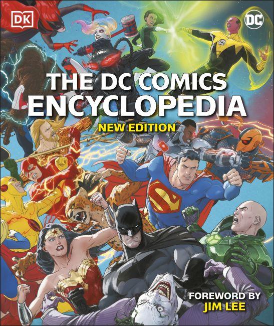 Hardback cover of The DC Comics Encyclopedia New Edition