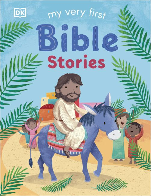 Board book cover of My Very First Bible Stories