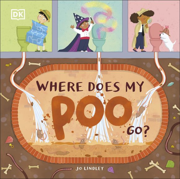 Hardback cover of Where Does My Poo Go?