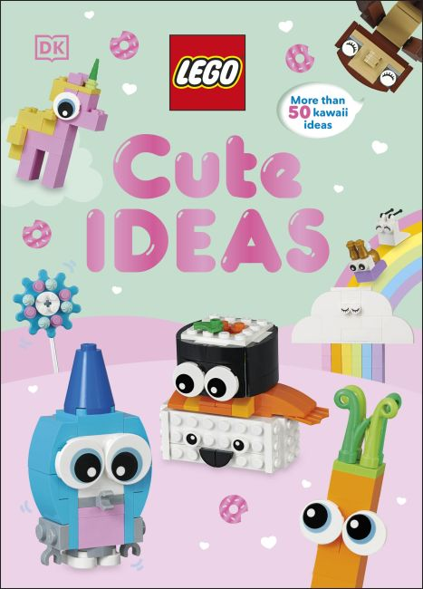 Hardback cover of LEGO Cute Ideas
