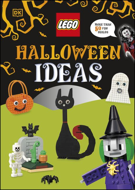 Hardback cover of LEGO Halloween Ideas