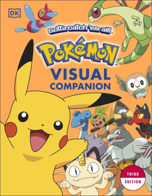 Paperback cover of Pokémon Visual Companion Third Edition