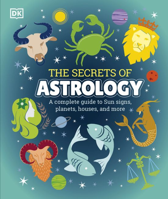 Hardback cover of The Secrets of Astrology