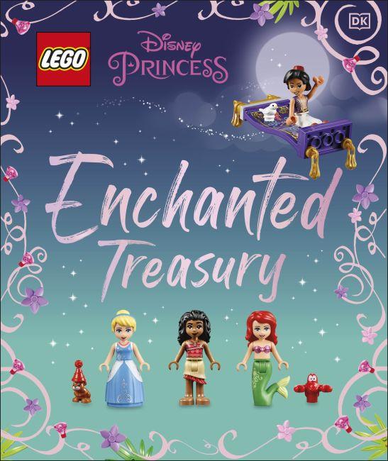 Hardback cover of LEGO Disney Princess Enchanted Treasury (Library Edition)