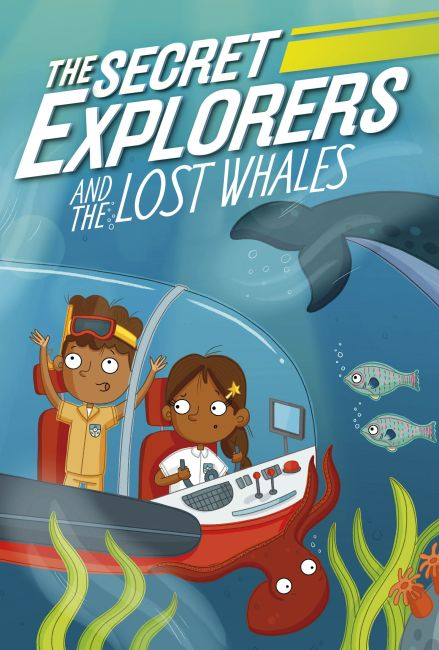 Hardback cover of The Secret Explorers and the Lost Whales