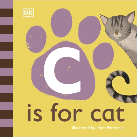 Board book cover of C is for Cat