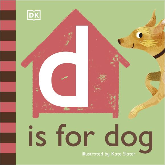 Board book cover of D is for Dog