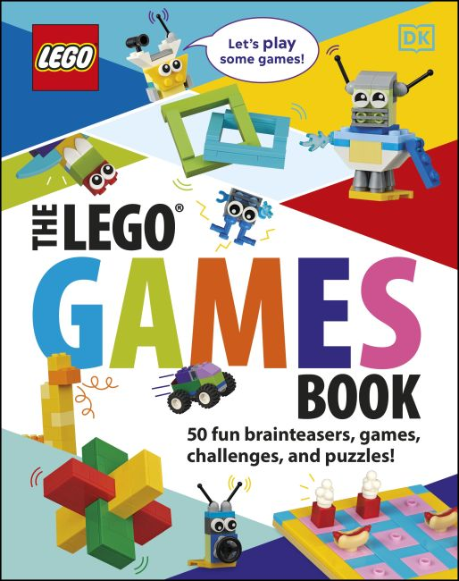 Hardback cover of The LEGO Games Book