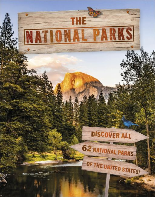 Hardback cover of The National Parks