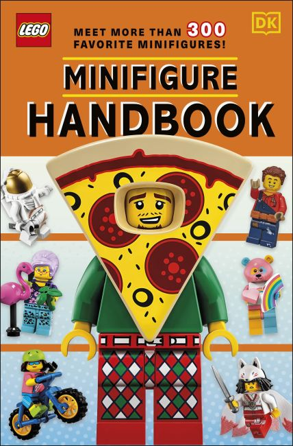 Paperback cover of LEGO Minifigure Handbook