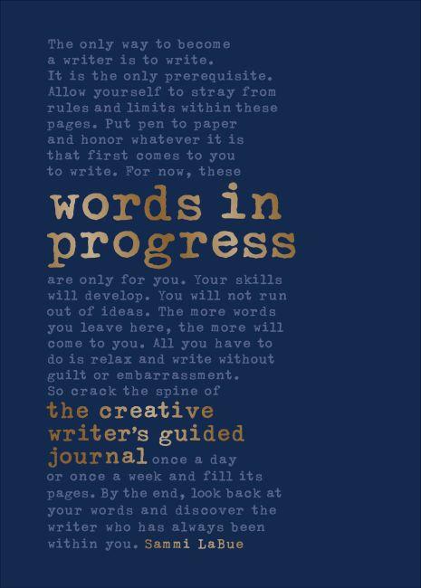 Hardback cover of Words in Progress