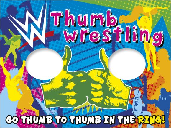 Paperback cover of WWE Thumb Wrestling