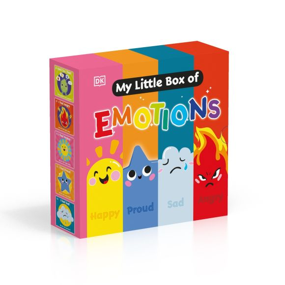 Board book cover of My Little Box of Emotions