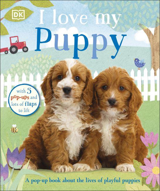 Board book cover of I Love My Puppy
