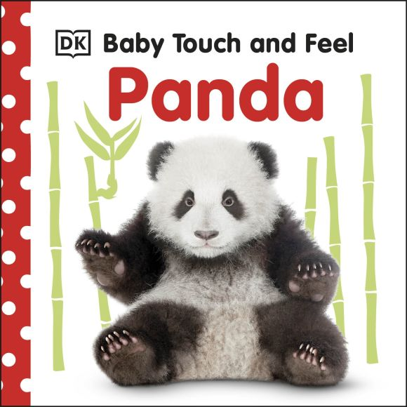 Board book cover of Baby Touch and Feel Panda