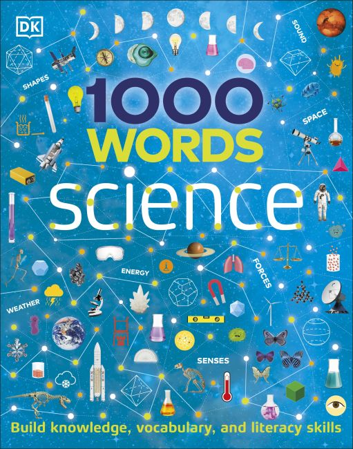 Hardback cover of 1000 Words: Science