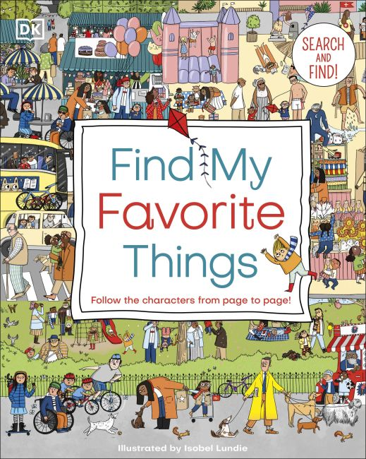 Board book cover of Find My Favorite Things