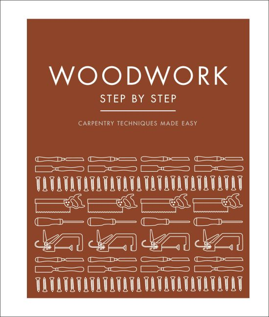 Hardback cover of Woodwork Step by Step