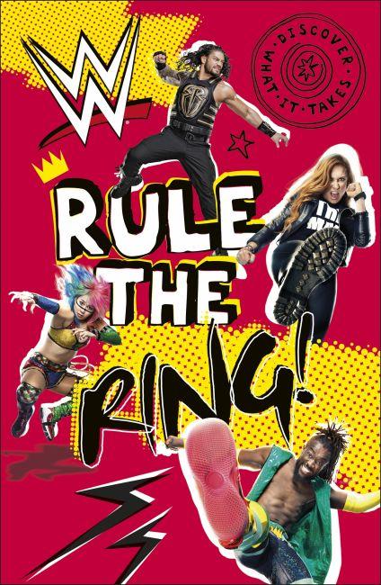 Hardback cover of WWE Rule the Ring!